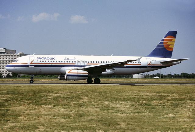 SU-RAA Airbus A320 231  (MSN 322)