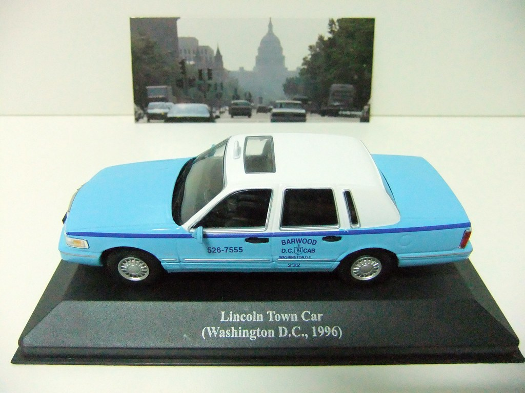 Lincoln Town Car Washington D C 1996 Altaya Flickr