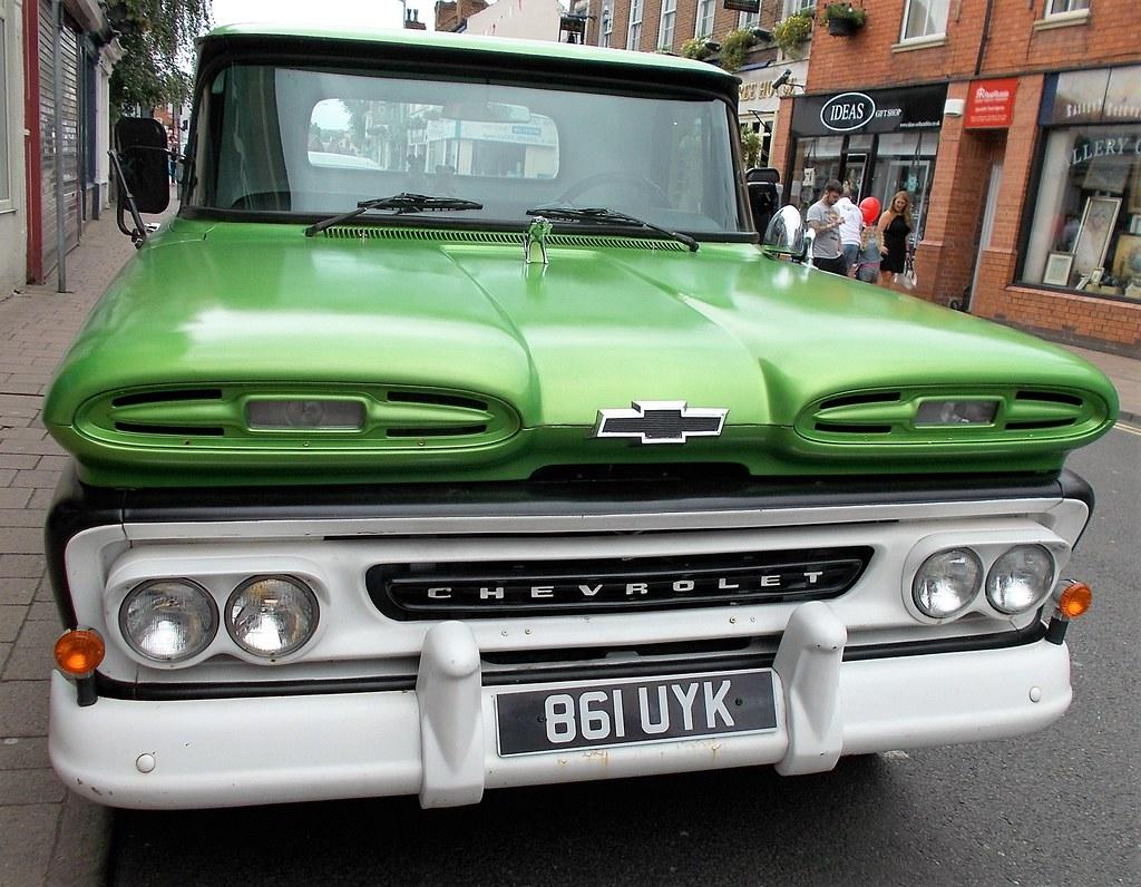 1961 Chevrolet Apachie Pick Up 3800cc 861uyk John Flickr By Midlands Vehicle Photographer