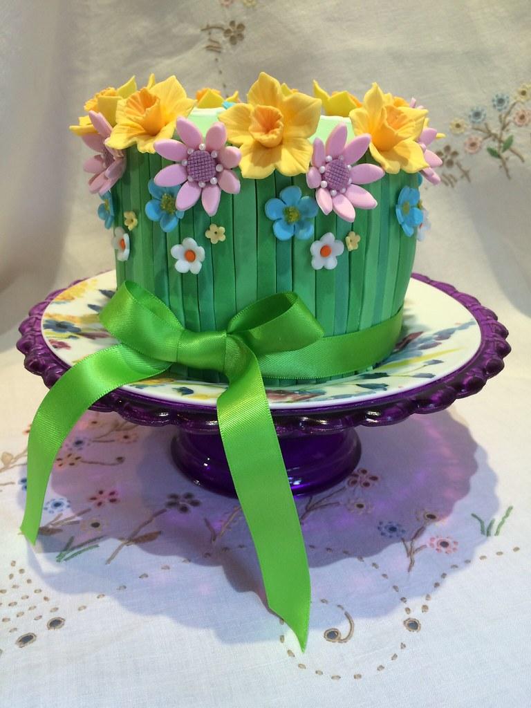 Spring Flower Cake Kat Buchan Flickr