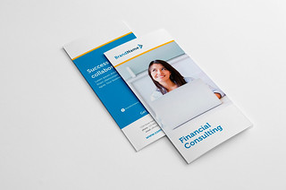 Financial Consulting Trifold Brochure | by Snowboy Design