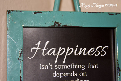 Happiness Chalkboard Printable | by Maggie Muggins Designs