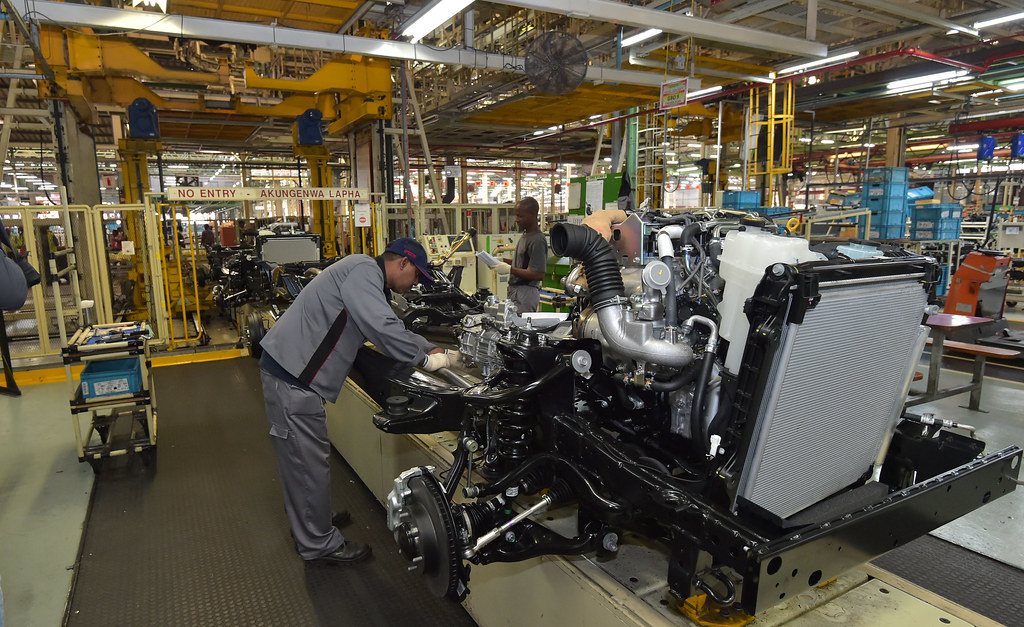 Image result for toyota factory