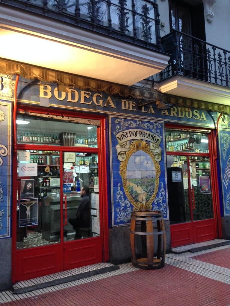 Bodega De La Ardosa Santa Engracia Chamberi Madrid Flickr