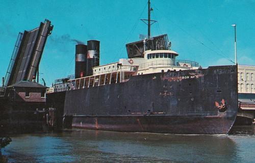 Ship Manitowoc Wi Frankfort Elberta Mi C 1950s Aarr Ss No