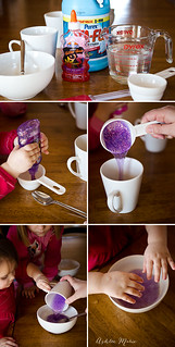It's super easy to make this three ingredient slime | by ashleemarie.com