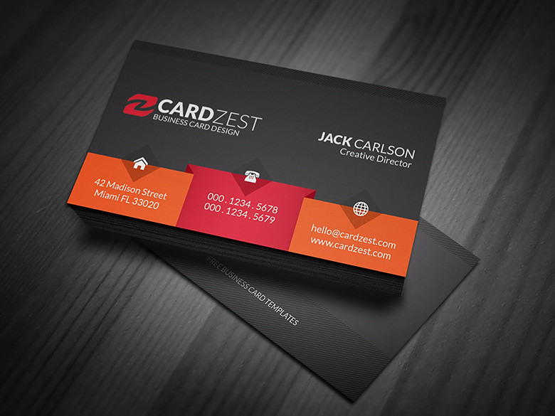 Unique bold black business card template download unique flickr unique bold black business card template by meng loong accmission Gallery