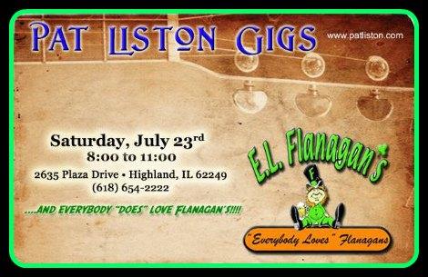 Pat Liston 7-23-16