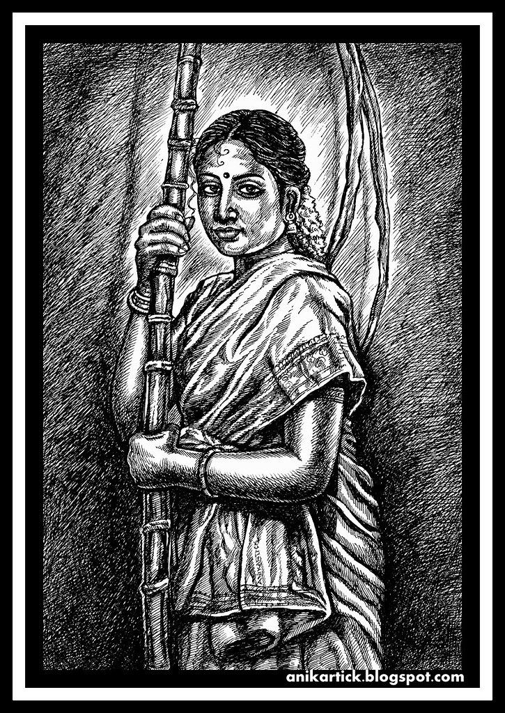 Indian artindian artistindian traditional drawingsindian girlsindian women