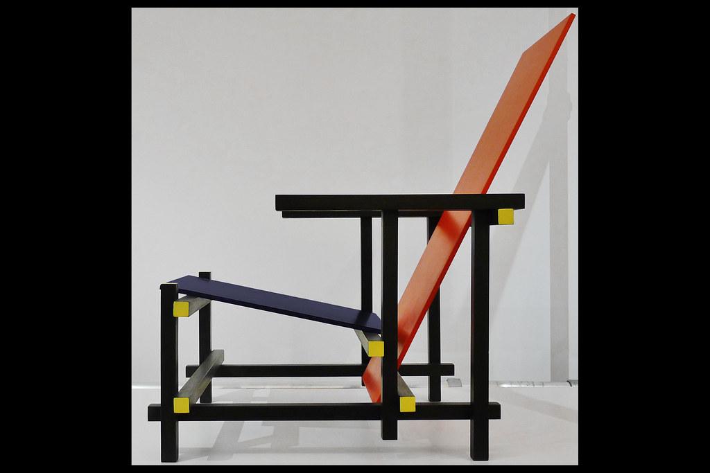 Rood Blauwe Stoel : Rood blauwe stoel rietveld gt gorcums museum u flickr