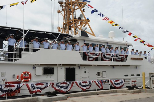 Coast Guard commissions Key West's sixth fast response cutter | by Coast Guard News
