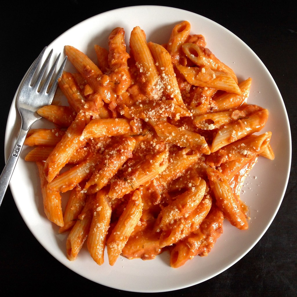 Image result for penne alla vodka