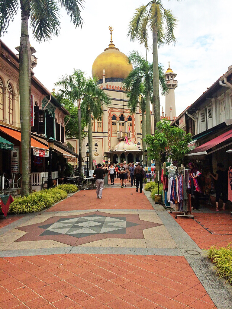 Singapore Sultan Mosque - Copyright Travelosio