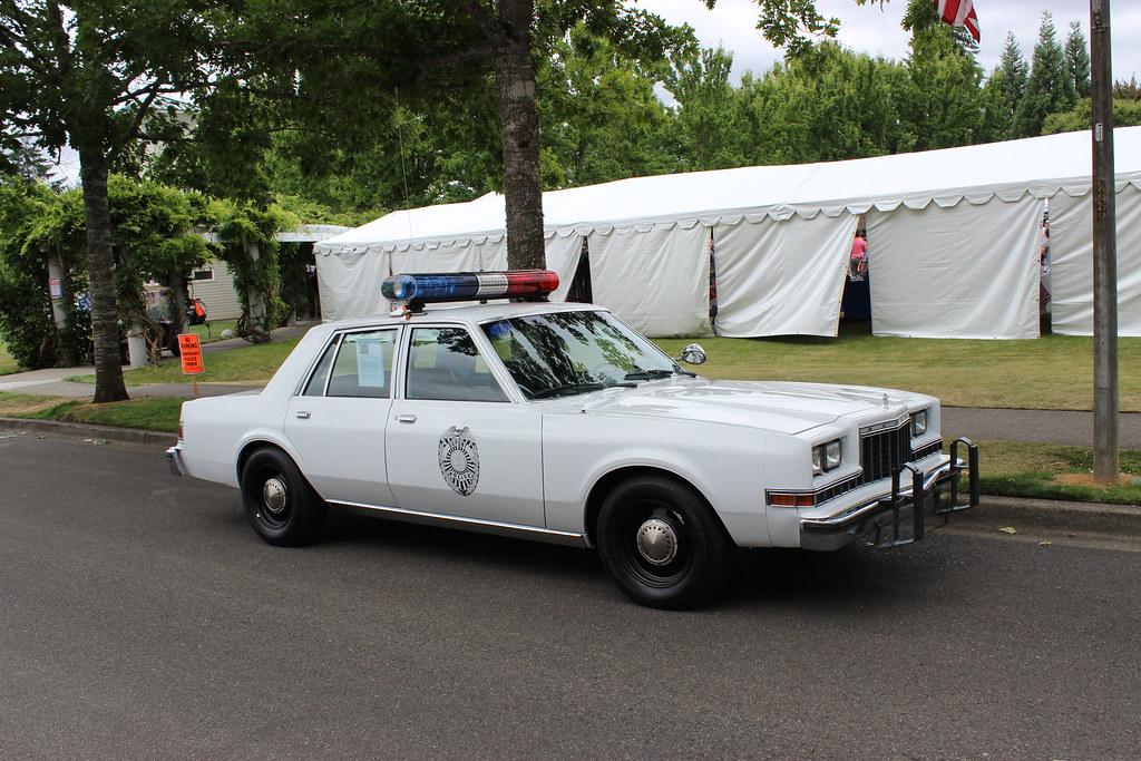 Dupont Police 1983 Dodge Diplomat Police Car Dupont Wa 20 Flickr