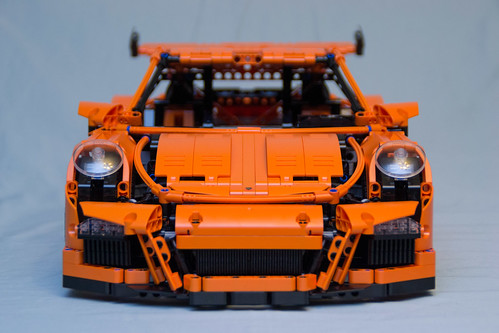 42056 lego technic porsche 911 gt3 rs low front vyn raskopf flickr. Black Bedroom Furniture Sets. Home Design Ideas
