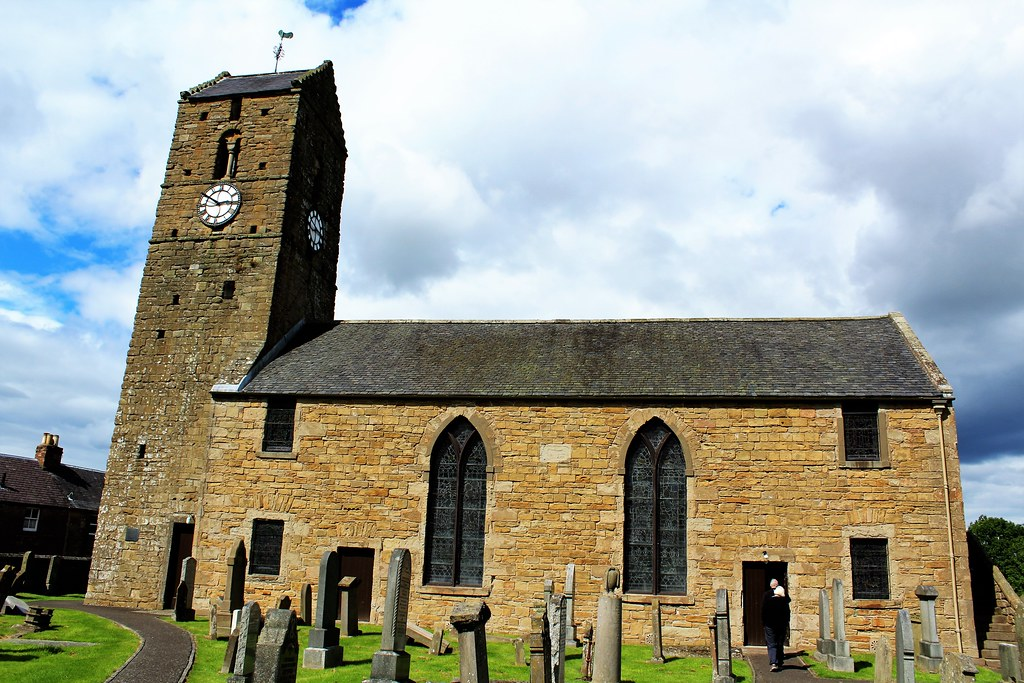St Serf's Church, Dunning, Scotland