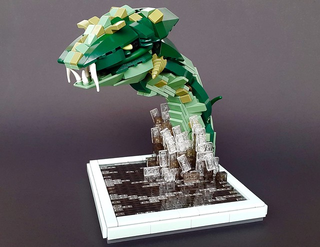 Lego Sea Serpent Is Coming To Get You The Brothers Brick
