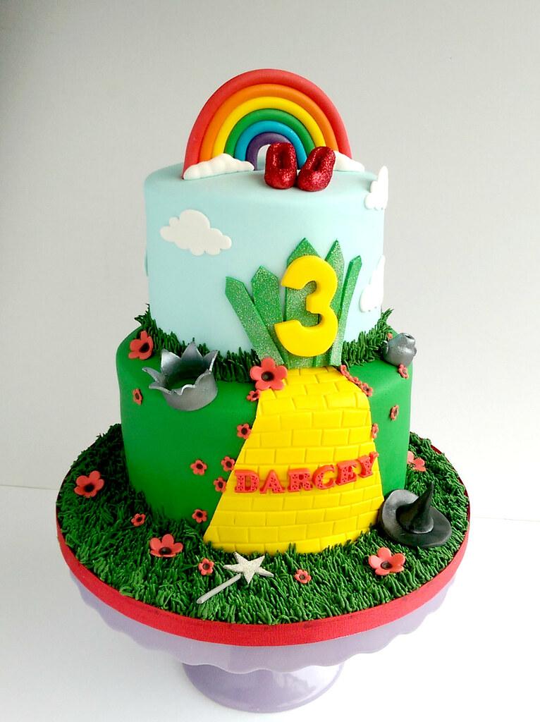Wizard Of Oz Birthday Cake Swirlsbakery Flickr