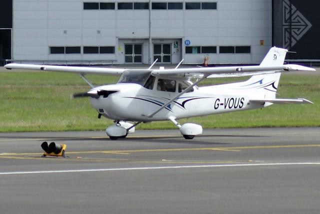 Cessna 172S Skyhawk G-VOUS 21JUN16 - Gerallt Marsh