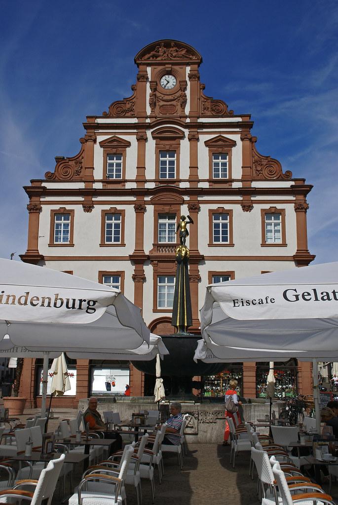Speyer Alter Marktplatz Alte Münze Old Mint Vom Altpör Flickr