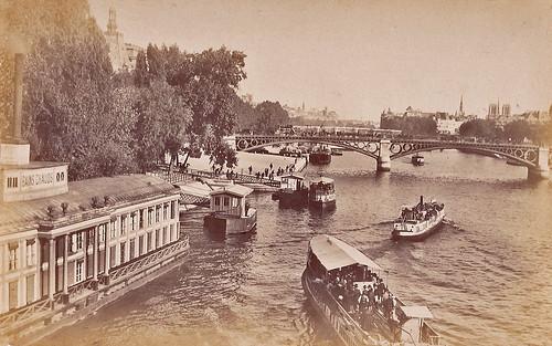 Depuis le Pont Royal. 1885.