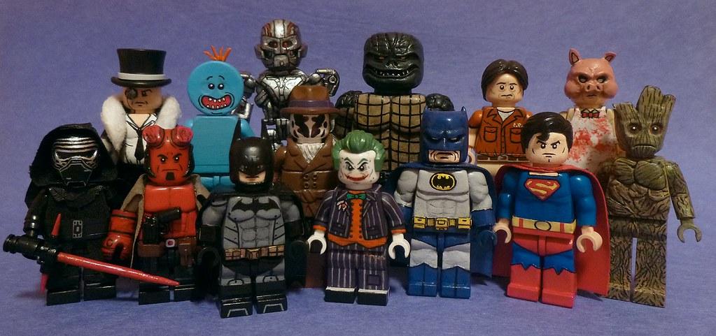 Top 14 Favorite Custom Lego Minifigures   Oh boi, MooseFigs …   Flickr