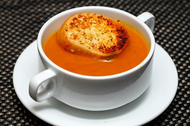 Maria's SteakCafe Pumpkin Soup