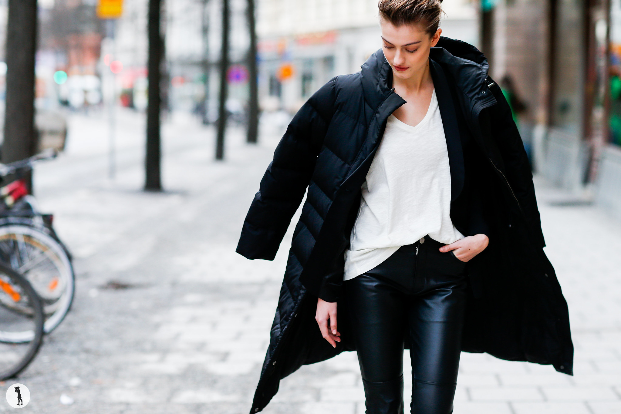 Model Lone Praesto Nordstrom - Stockholm Fashion Week FW16-17 (2)