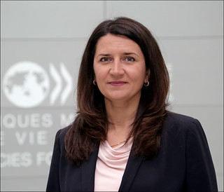 Ivita Burmistre, Ambassador of Latvia to the OECD