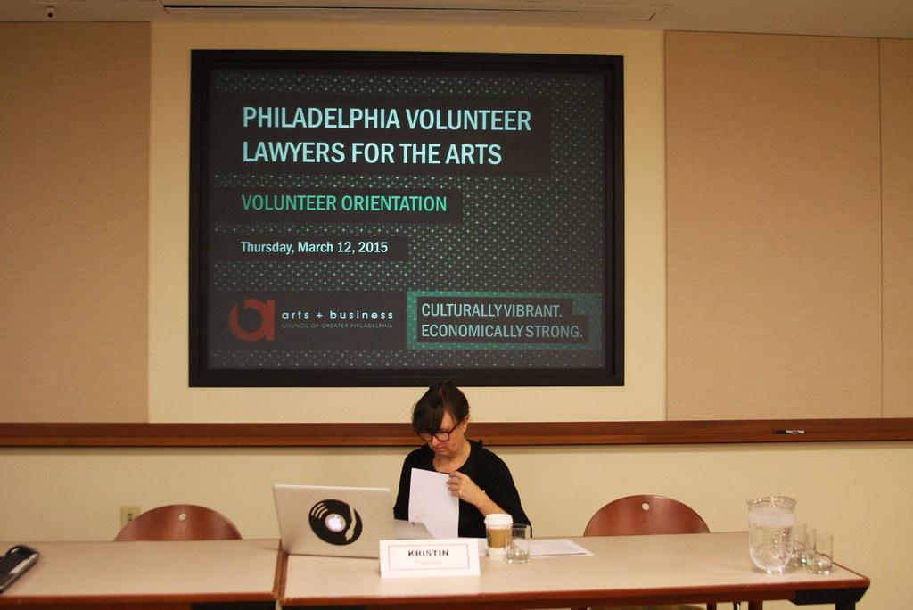 Volunteer Lawyers For The Arts: Philadelphia Volunteer Lawyers For The Arts - 3/12/15