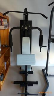 Banc de musculation 150€ (3)