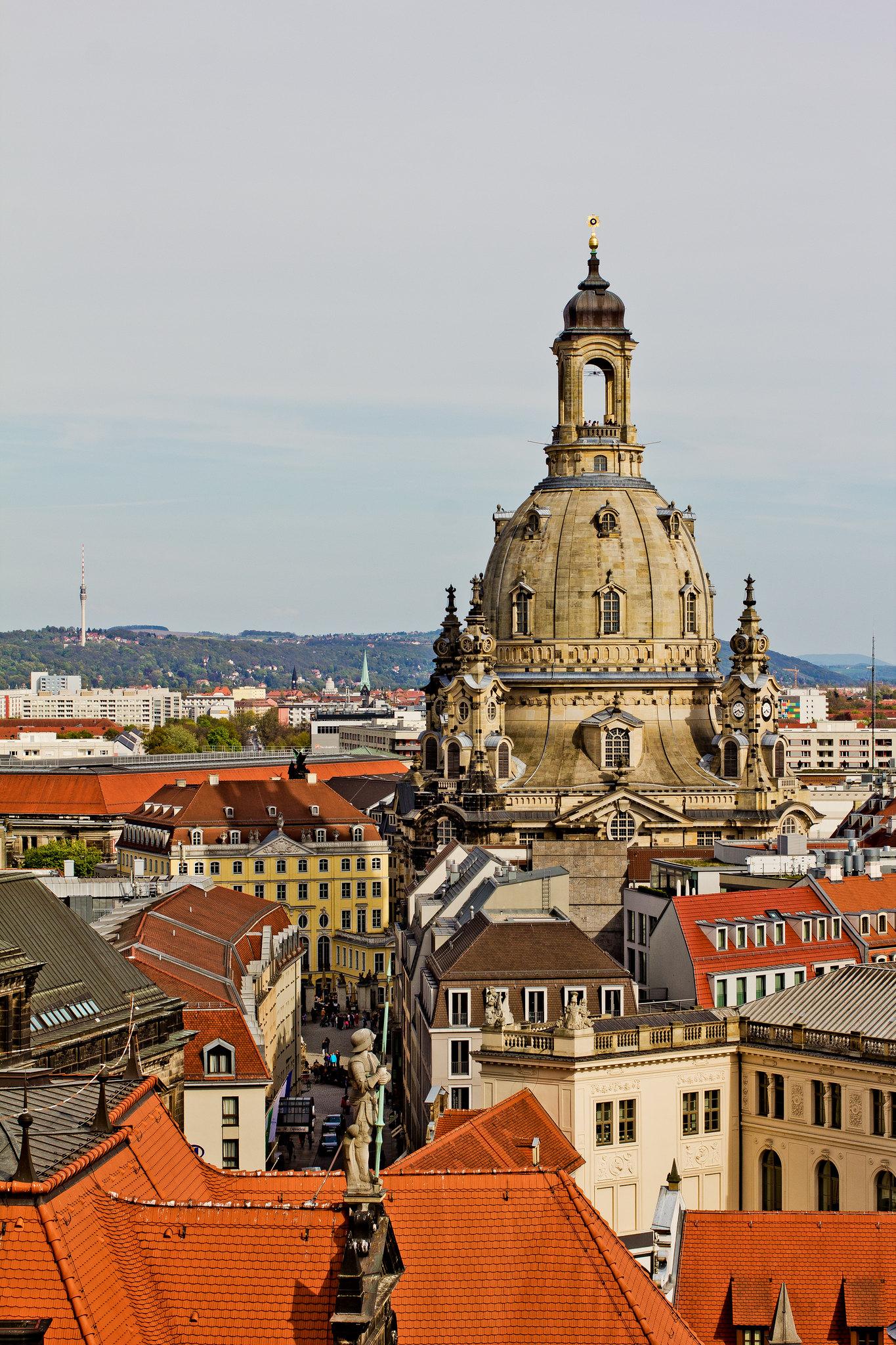 frauenkirche & coselpalais // dresden