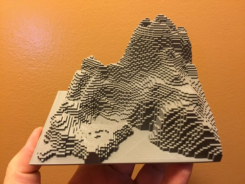 3D Printed MineCraft | by John Biehler