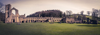 Fountains Abbey Panorama | by Stephen Tierney.