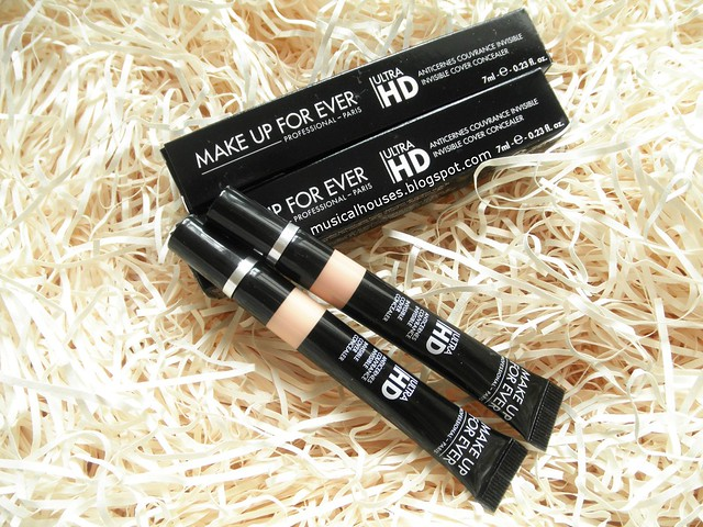 MUFE Ultra HD Concealer Review Y23 Ivory R30 Beige