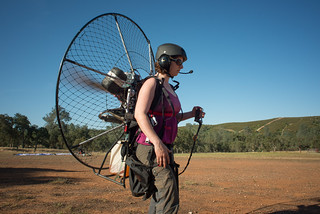 Tara Testing BlackHawk 125 Paramotor | by goingslowly