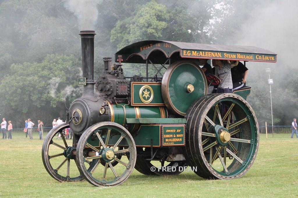 1911 j h mclaren traction engine the emerald stradbal flickr