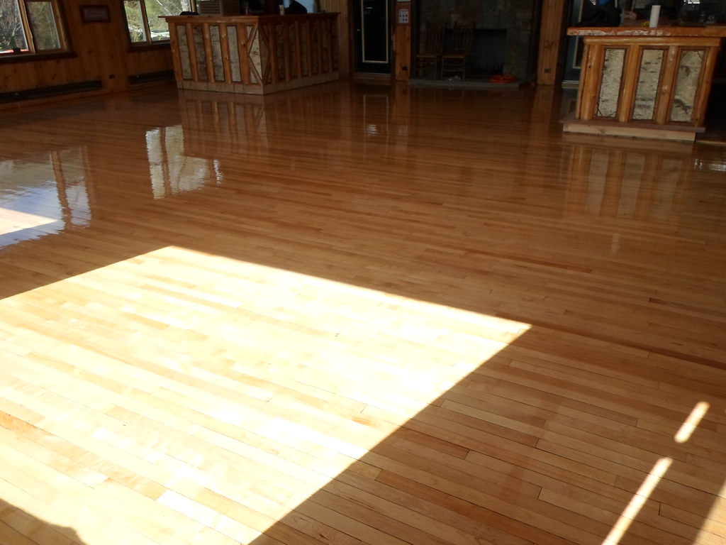 Maple Floors That Have Been Sanded And Finished By Superio Flickr