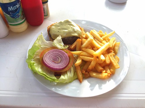 Cheeseburger - Sosua Beach