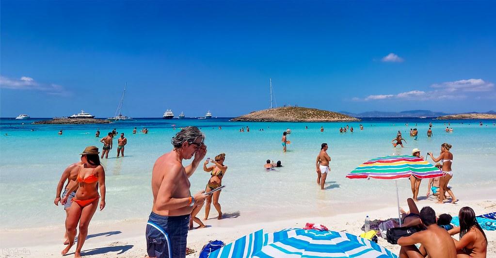 playa de ses illetes espagne