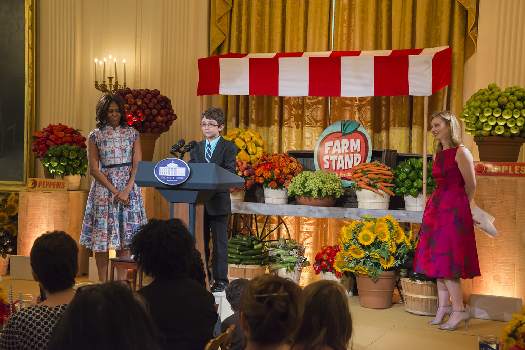 Braeden Mannering, the 2013 Kid's State Dinner winner from Delaware at 2014 Kids' State Dinner