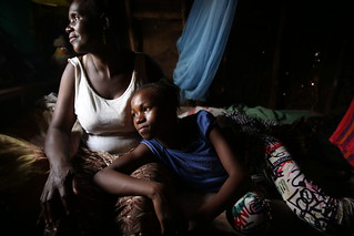 Ebola survivors Mariatu and her daughter Adam | by World Bank Photo Collection
