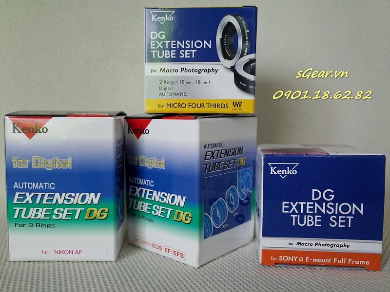 Kenko Auto AF Extension Tube for Canon/Nikon