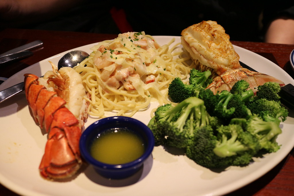 red lobster meal