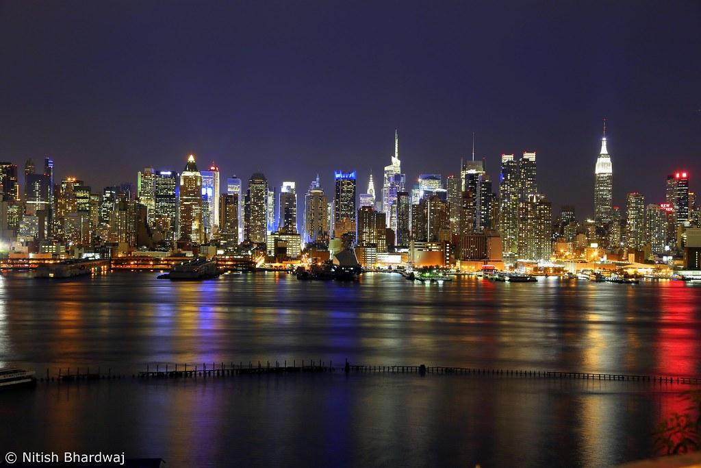 new york city skyline new york city skyline 10 seconds exp flickr