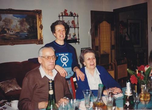 Jacinto Monclús amb la seva senyora i la seva filla Pepita