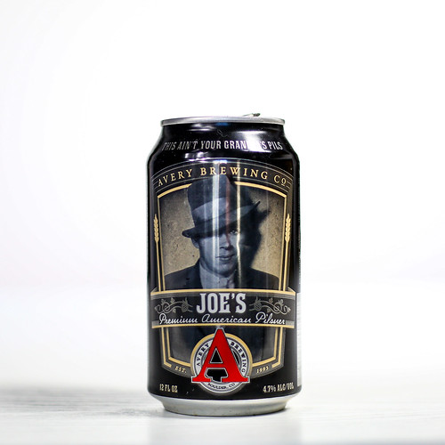 Pilsner Showdown Beers - Avery Brewing Co. - Joe's Premium American Pilsner | by fourbrewers