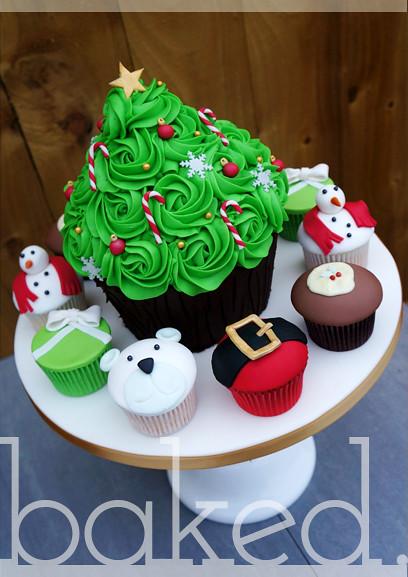 Cupcakery Christmas Tree Giant Cupcake | by Baked. Cupcakery - Christmas Tree Giant Cupcake This Was A Fun Christmas Desi… Flickr