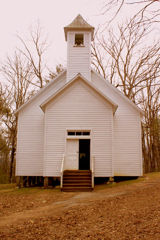 Cades Cove Missionary Baptist Church (Front View)