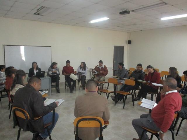 Sesión comité de convivencia